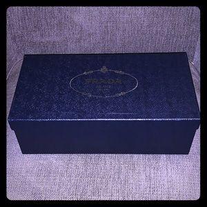 Prada collectible shoe box
